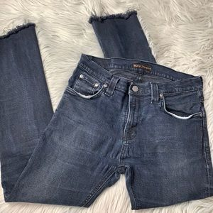 Nudie Jeans Co size 31 Tube Tom frayed hem